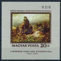 1976 Festmény (XVI.) vágott blokk (3.500)