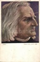 Liszt Ferenc, artist signed (b)