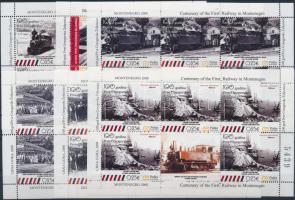 Railway mini sheet set Vasút kisívsor