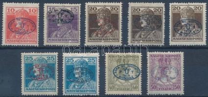 Debrecen I. 1919 9 klf Károly-Zita bélyeg garancia nélkül (**133.500)