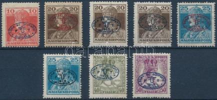 Debrecen I. 1919 8 klf Károly-Zita bélyeg garancia nélkül (**83.500)