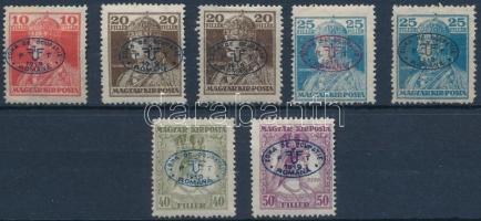 Debrecen I. 1919 7 klf Károly-Zita bélyeg garancia nélkül (**81.000)