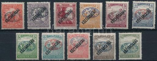 Debrecen I. 1919 11 klf bélyeg garancia nélkül (**86.000)