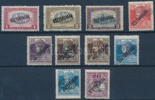 Debrecen I. 1919 10 klf bélyeg garancia nélkül (**103.500)