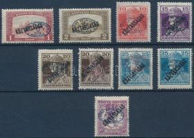 Debrecen I. 1919 9 klf bélyeg garancia nélkül (**78.500)