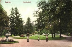 Sopron, Erzsébet kert, kiadja Kummert L. utóda (EK)