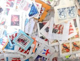 USA 700 g áztatni való forgalmi bélyeg zacskóban