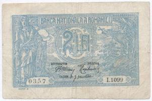 Románia 1915. 2L T:III apró szakadás Romania 1915. 2 Lei C:F small tear Krause 18