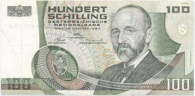 Ausztria 1984. (1985) 100Sch T:III Austria 1984. (1985) 100 Schilling C:F Krause 150.