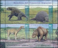 Prehistoric animals block, Őskori állatok blokk