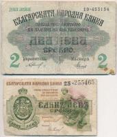 Bulgária 1909. 5L két sorszámmal + 1916. 2L + 1920. 1L T:III- ly., fo., kis szakadás, ragasztás Bulgaria 1909. 5 Leva Srebro with 2 serials + 1916. 2 Leva Srebro + 1920. 1 Lev Srebro C:VG hole, spotted, small tear, sticked Krause 2; 15; 30