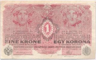 1916. 1K sorozatszám 7000 felett T:III Adamo K3M