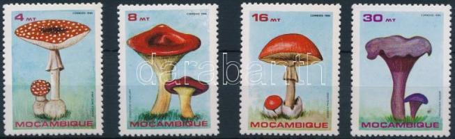 1986 Gomba sor Mi 1057-1060