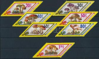 1978 Gomba sor Mi 1133-1139