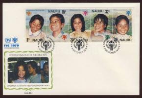1979 Nemzetközi gyermekév Mi 198-202 FDC