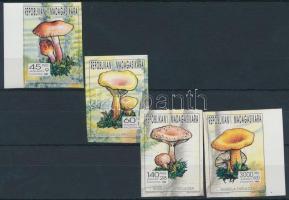 Madagaszkár 1993 Gomba 4 klf vágott bélyeg