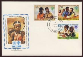1979 Nemzetközi gyermekév Mi 659-661 FDC