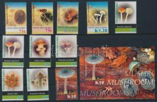 2005 Gomba sor Mi 1129-1139 + blokk Mi 34