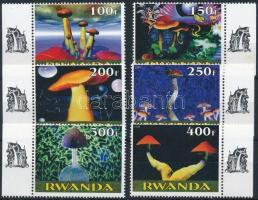 Ruanda 1999 Gomba 6 klf ívszéli bélyeg