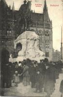 Budapest V. Országház, Andrássy szobor (EK)