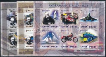 Jules Verne; Haszongépjárművek kisívsor Jules Verne; Transportation mini sheet set
