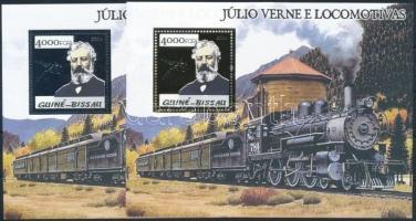 2005 Jules Verne; Vonatok blokksor Mi 487-488