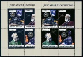 2005 Jules Verne; Vonatok kisívsor Mi 2926-2933