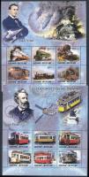 2005 Jules Verne; Vonatok kisívsor Mi 3016-3033