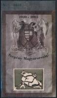 2005/12-13 Trianon ajándék és feketenyomat emlékív azonos sorszámmal