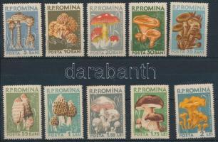 1958 Gomba sor Mi 1721-1730