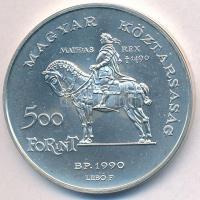 1990. 500Ft Ag Mátyás király / Beatrix T:BU Adamo EM113