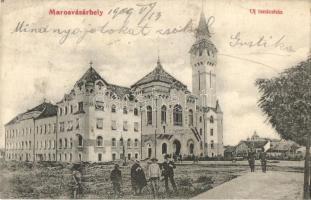 Marosvásárhely, Targu Mures; Új tanácsház, városháza, kiadja Reichardsperg J. és Társa Márványi Arthur / town hall (fa)