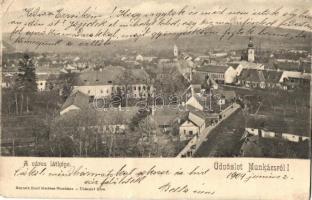 Munkács, Mukacheve; Látkép, kiadja Bertsik Emil / general view (b)