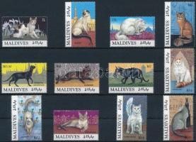 1994 Macskák sor Mi 2199-2210
