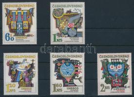 1974 UNESCO Hidrológiai évtizede sor + kisívsor Mi 2195-2199