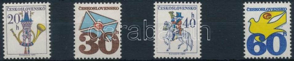 1979 Forgalmi sor Mi 2228-2231 y