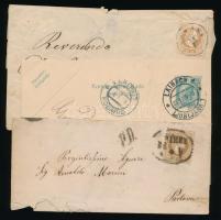 Ausztria 1854-1906 5 klf levél