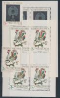 1974 Prágai vár sor + kisívsor Mi 2201-2202