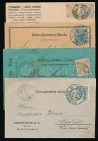 Ausztria 1867-1903 5 klf levél