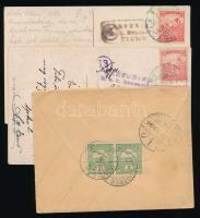 1910-1915 5 klf levél és képeslap