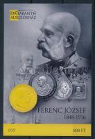 2016 Ferenc József 1848-1916 emlékív (ssz.: 015)