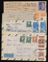 1903-1961 9 klf küldemény különböző országokból