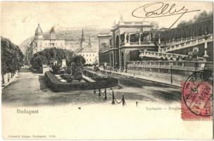 Budapest I. Várbazár, Citadella, Schimdt Edgar kiadása, TCV card (EK)