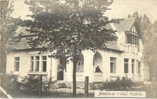 Siófok, Rákóczi villa, photo
