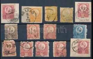 1871 14 db réznyomat bélyeg