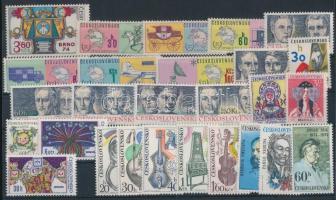 1974-1976 20 klf sor + 10 klf önálló érték 4 db stecklapon