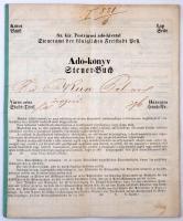 1876 Adókönyv, német és magyar nyelven
