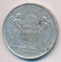1939. 5P Ag Horthy balra T:2-,3 több ph.