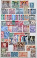Kb. 1173 db főleg európai bélyeg, 10 lapos közepes berakóban (min. Mi EUR 998.-)