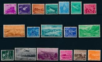 1955 Mezőgazdaság és ipar sor Mi 238-255